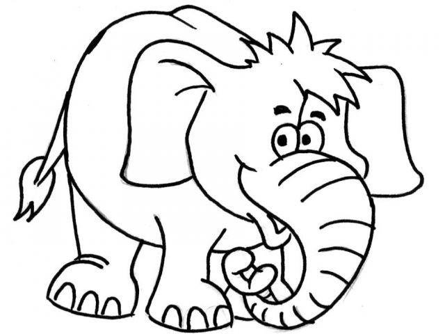 Elefant Zum Ausdrucken Inspirierend Druckbar Ausmalbild Elefant Bilder