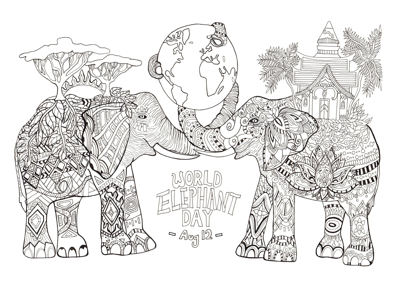 elefant zum ausdrucken genial xxl gemälde l elefant bunt