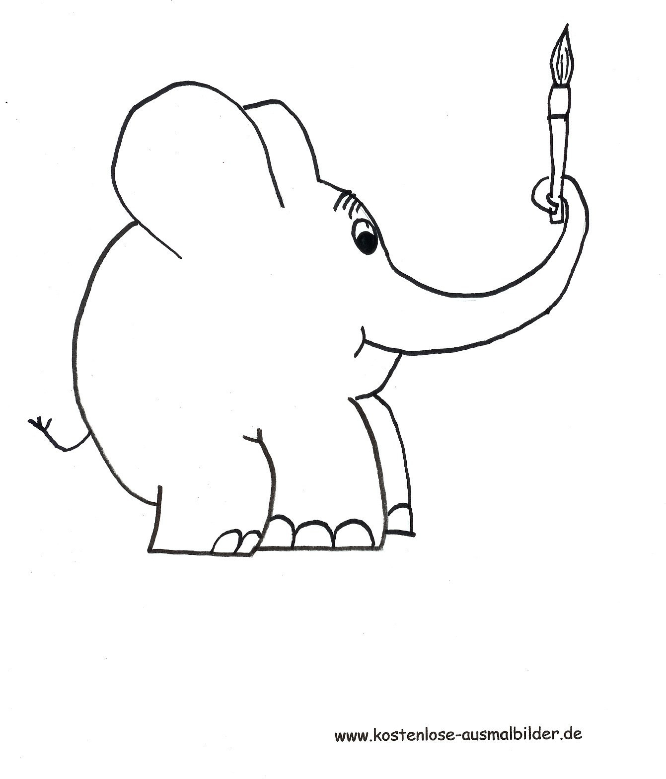 Elefant Zum Ausdrucken Neu Elefanten Ausdrucke Wundersame 40 Ausmalbilder Elefant Zum Bild