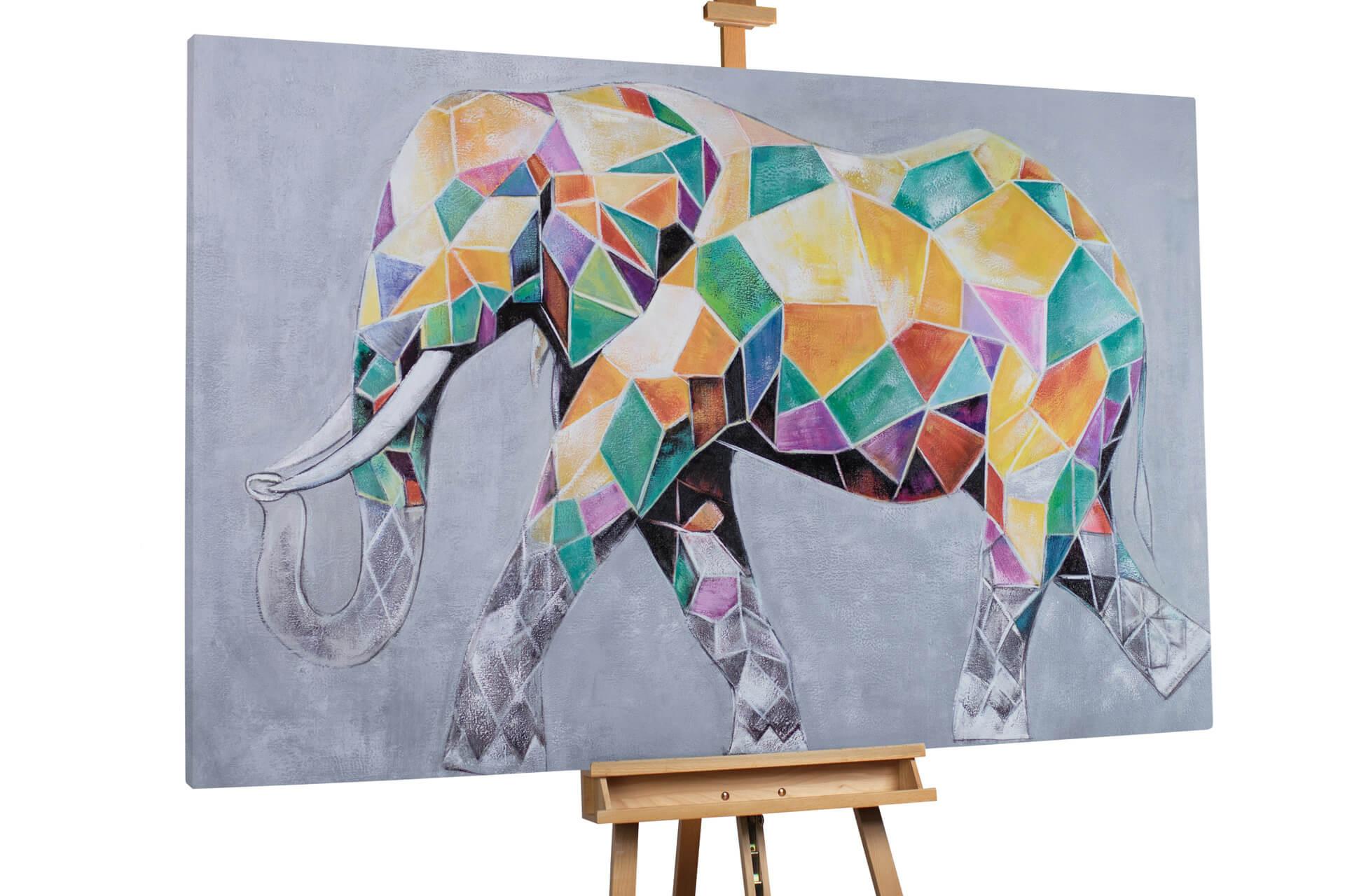Elefant Zum Ausdrucken Neu Xxl Gemälde –l Elefant Bunt Kaufen Fotografieren