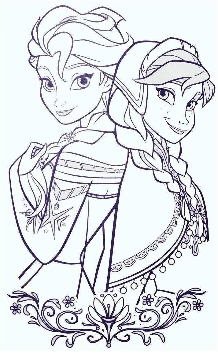 Elena Von Avalor Ausmalbilder Inspirierend Coloriage Olaf Et Elsa Inspirational Anna Und Elsa Ausmalbilder Fotos