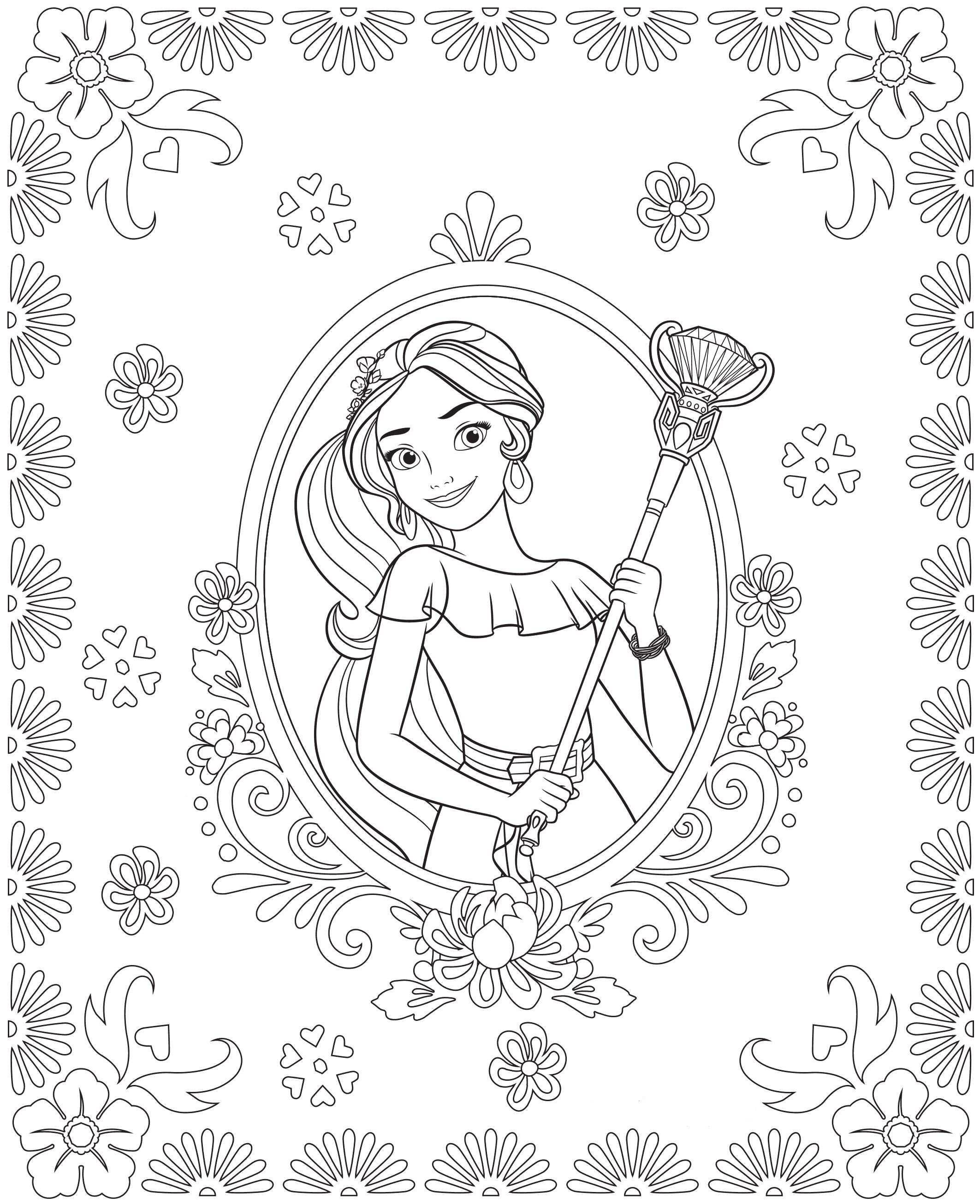 Elena Von Avalor Ausmalbilder Inspirierend Disney Elena Avalor Printable Coloring Pages Schön Ausmalbilder Stock