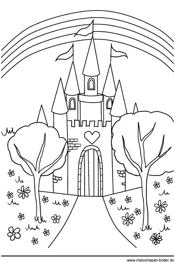 Elsa Im Schloss Ausmalbilder Inspirierend Malvorlage Schloss Märchenschloss Bajki Druckfertig Ausmalbilder Das Bild