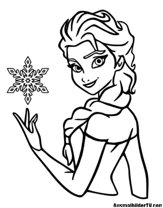 Elsa Im Schloss Ausmalbilder Neu Frozen Ausmalbilder Basteln Pinterest Ausmalbilder Elsa Schloss Das Bild