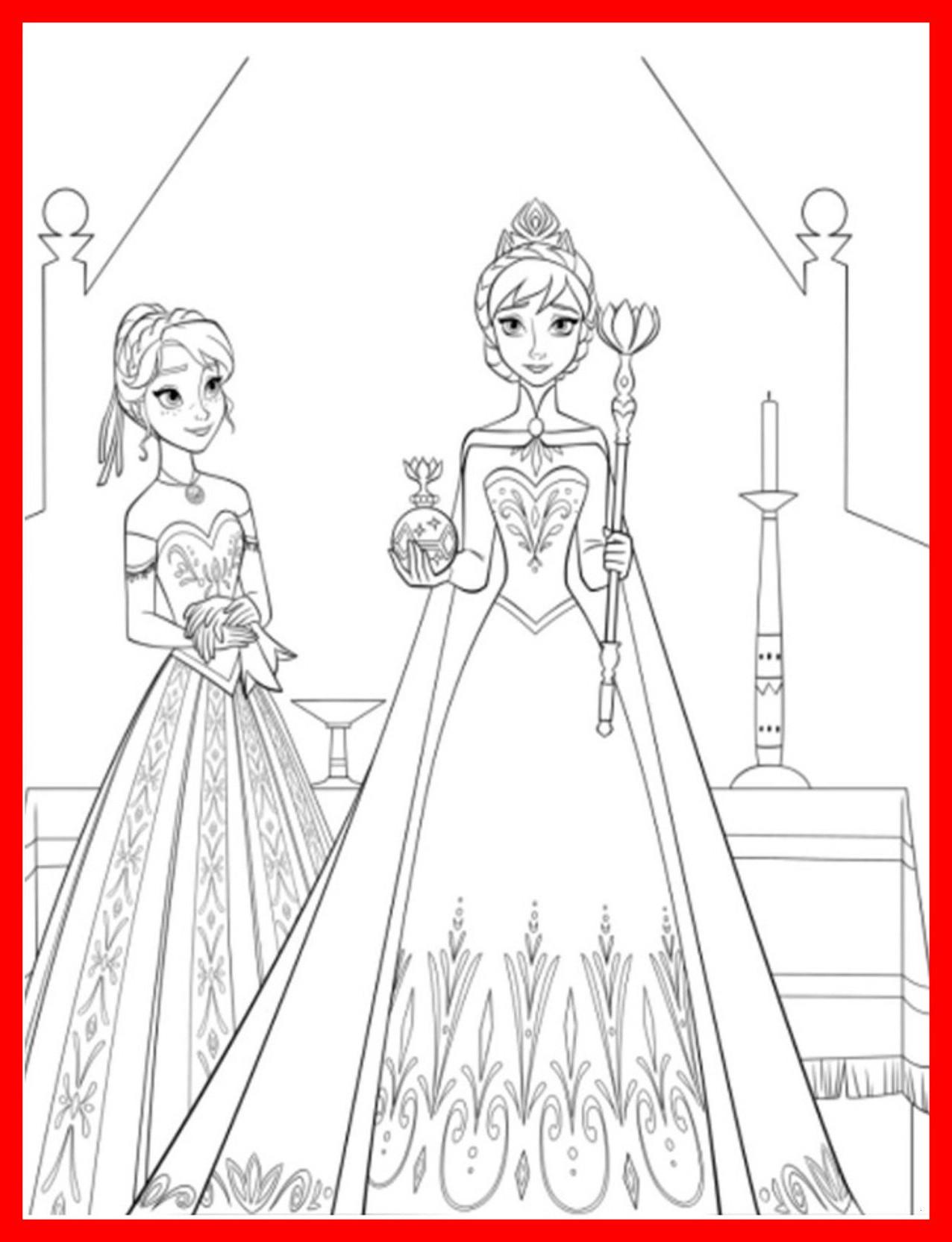 Elsa Und Anna Zum Ausmalen Frisch 35 Fantastisch Ausmalbilder Elsa Und Anna – Malvorlagen Ideen Bild