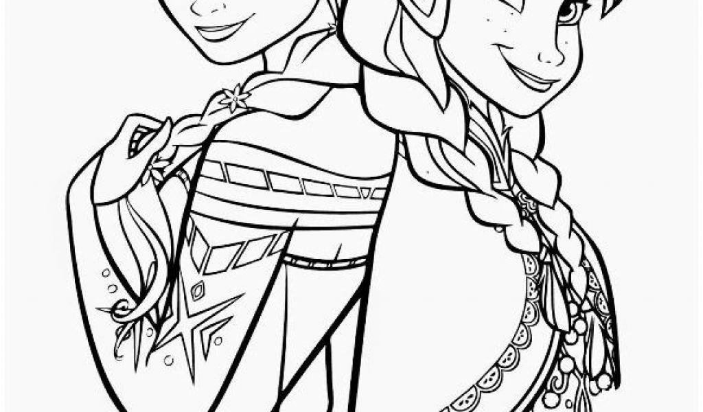 Elsa Und Anna Zum Ausmalen Genial Kids N Fun Coloring Page Frozen Anna and Elsa Frozen Elsa Galerie