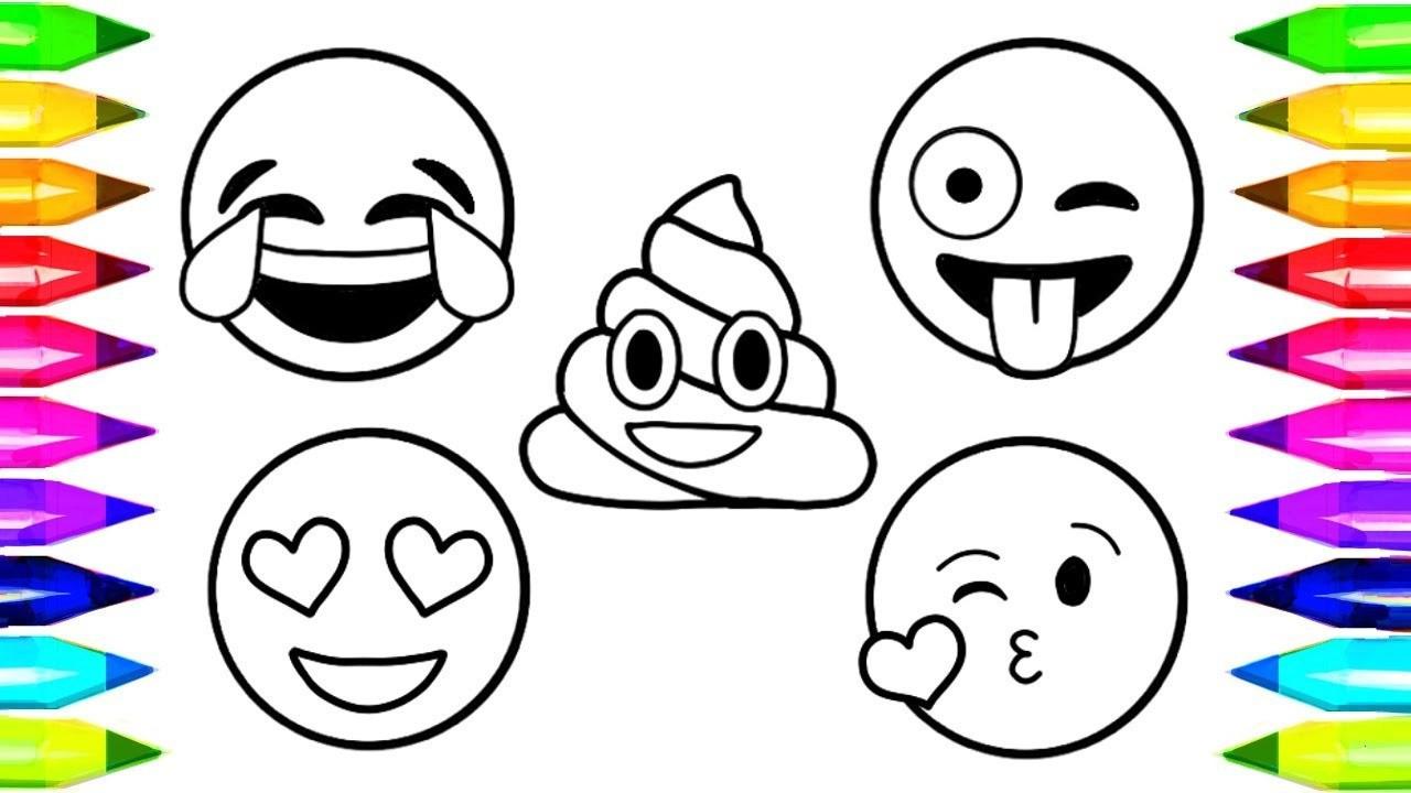 Emojis Zum Ausmalen Einzigartig 37 Beste Von Ausmalbilder Emoji – Große Coloring Page Sammlung Sammlung