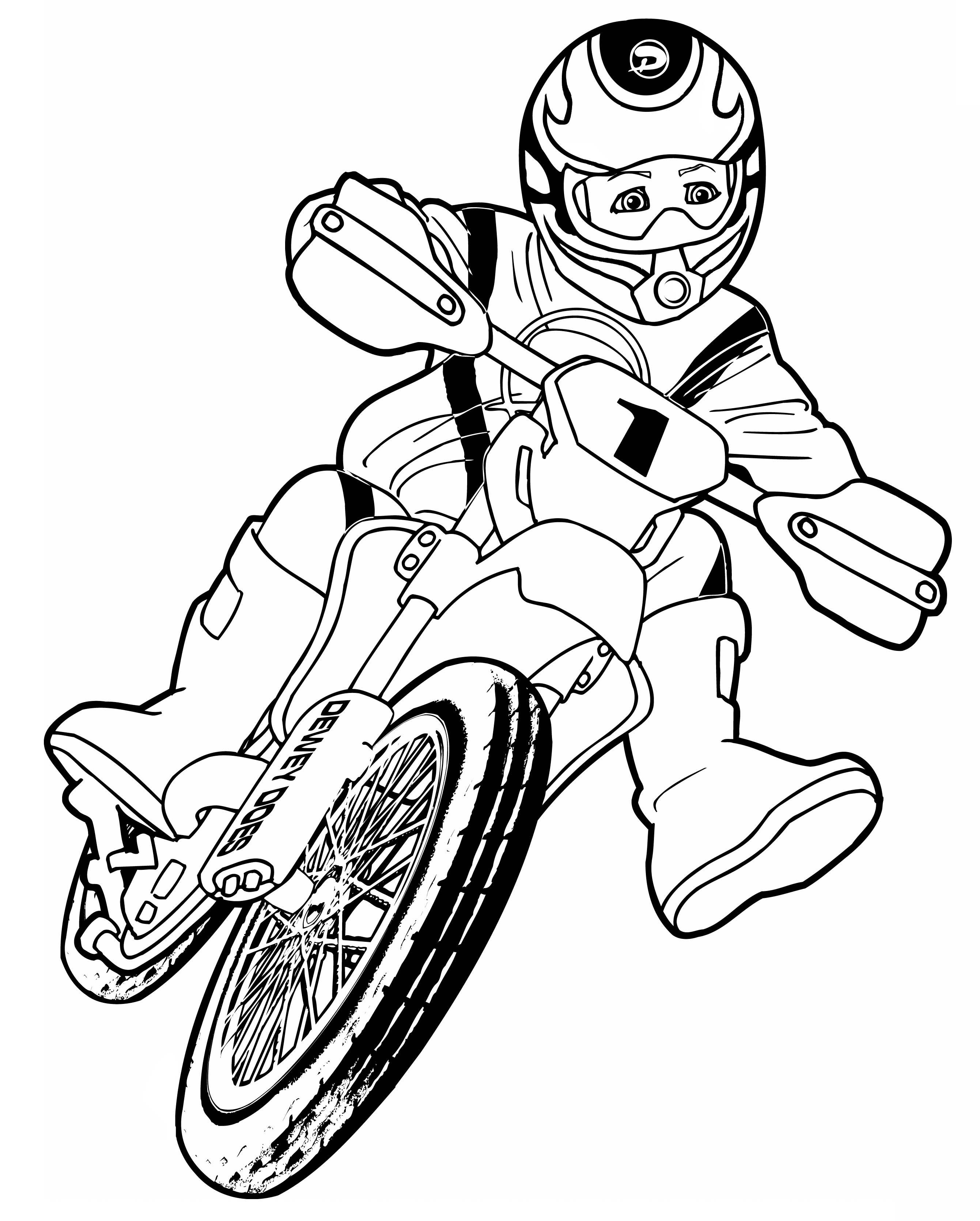 Erdmännchen Zum Ausmalen Neu Coloriage Moto Cross Motocross à Imprimer Galerie