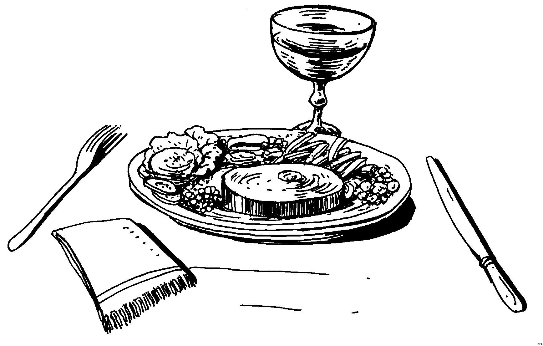 Essen Zum Ausmalen Inspirierend Leckeres Mahl Ausmalbild & Malvorlage Essen Und Trinken Neu Bilder