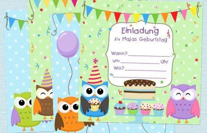 Eulen Zum Ausdrucken Einzigartig Einladungskarten Eule Bilder Schmetterlinge Kostenlos Einladung Bilder