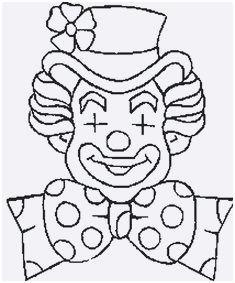 Fasching Ausmalbilder Clown Einzigartig Clown Vorlage Zum Ausschneiden Bilder