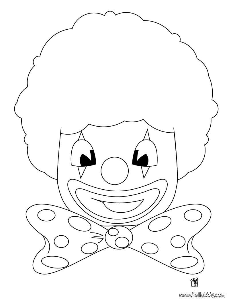 Fasching Ausmalbilder Clown Einzigartig Fasching Ausmalbild Kindergarten Pinterest Neu Clownkopf Sammlung