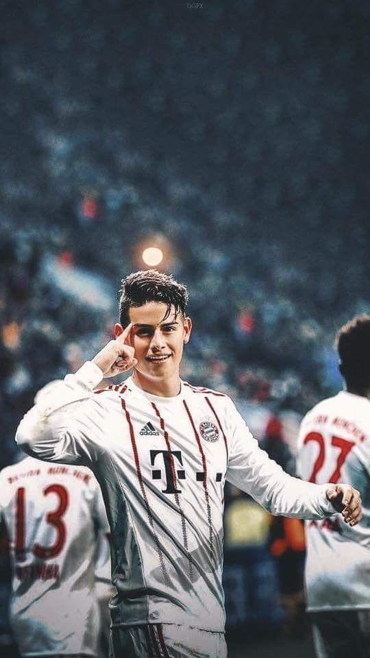 Fc Bayern Hintergrundbilder Genial James Rodriguez Bayern Wallpaper Fußball Stock