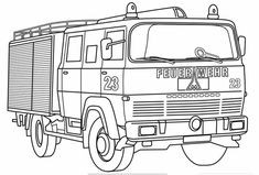 Feuerwehr Bilder Zum Ausmalen Genial Die 1156 Besten Bilder Von Ausmalbilder Bild