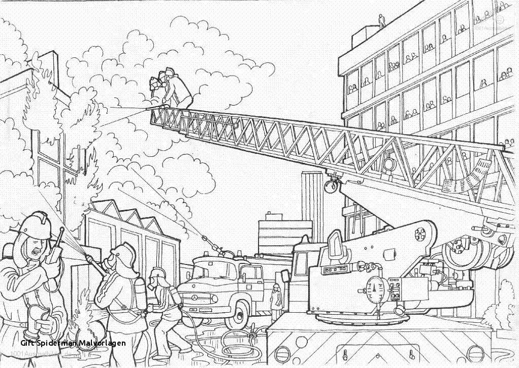 Feuerwehr Bilder Zum Ausmalen Genial Gift Spiderman Malvorlagen Feuerwehr Ausmalbilder 01 to Do Burning Sammlung