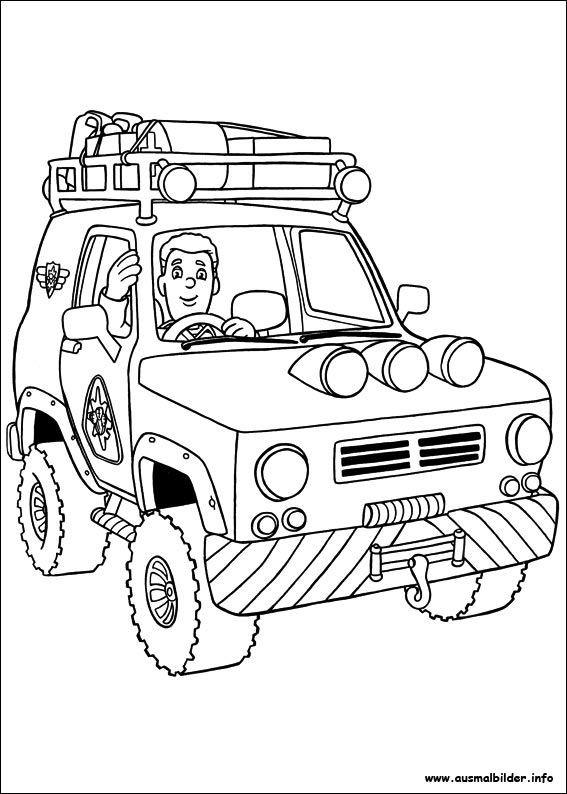 Feuerwehrmann Sam Ausmalbild Das Beste Von Ausmalbilder Eurer Lieblingshelden Zum Drucken Kinder Stock