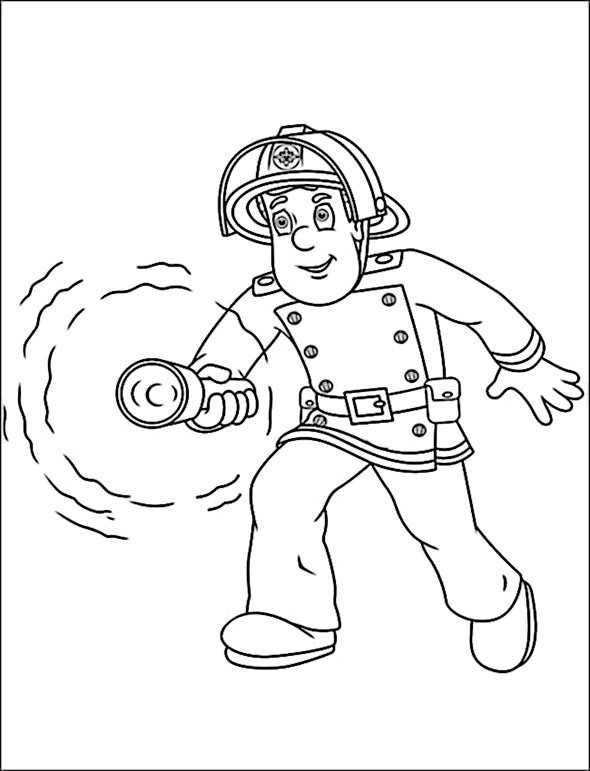 Feuerwehrmann Sam Ausmalbild Frisch Ausmalbilder Sam Kostenlos Malvorlagen Zum Ausdrucken Affefreund Stock