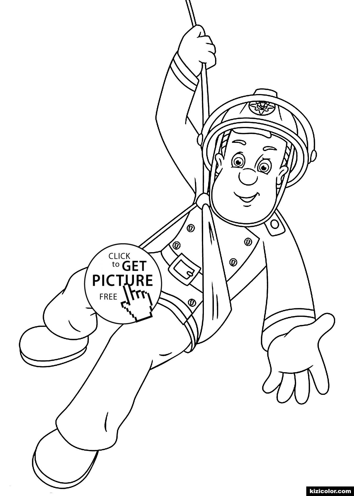 Feuerwehrmann Sam Ausmalbilder Zum Ausdrucken Das Beste Von Feuerwehrmann Sam Malvorlagen Für Print Für Kinder Inspirierend Galerie