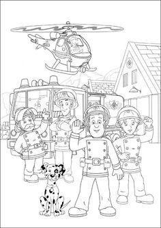 Feuerwehrmann Sam Ausmalbilder Zum Ausdrucken Inspirierend Die 56 Besten Bilder Von Feuerwehrmann Sam Geburtstag Galerie