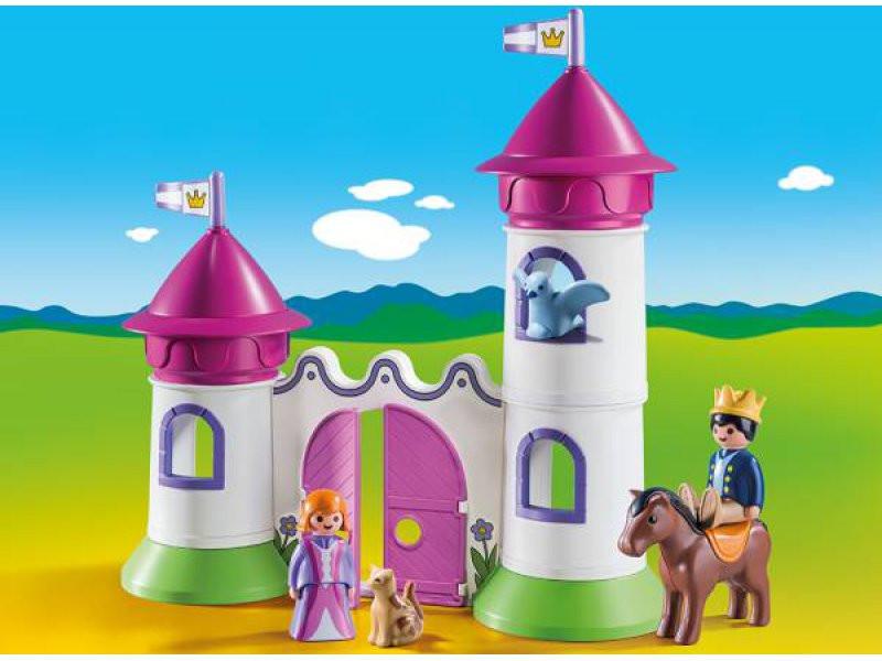 Filly Pferd Turm Neu Schlösschen Mit Stapelturm Playmobil 1 2 3 Sammlung