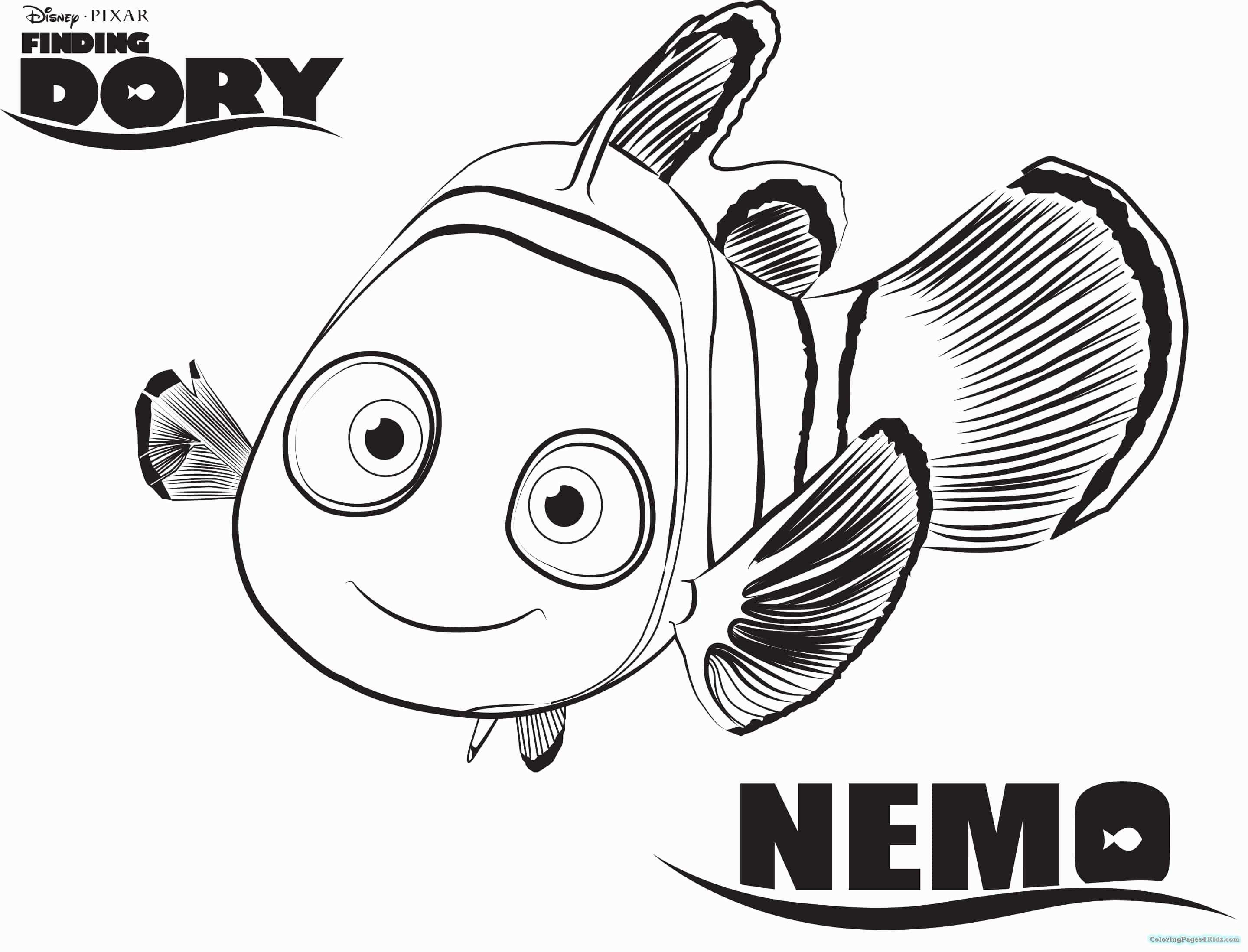 Findet Nemo Ausmalbilder Das Beste Von Nemo Coloring Pages Awesome Finding Nemo Coloring Galerie