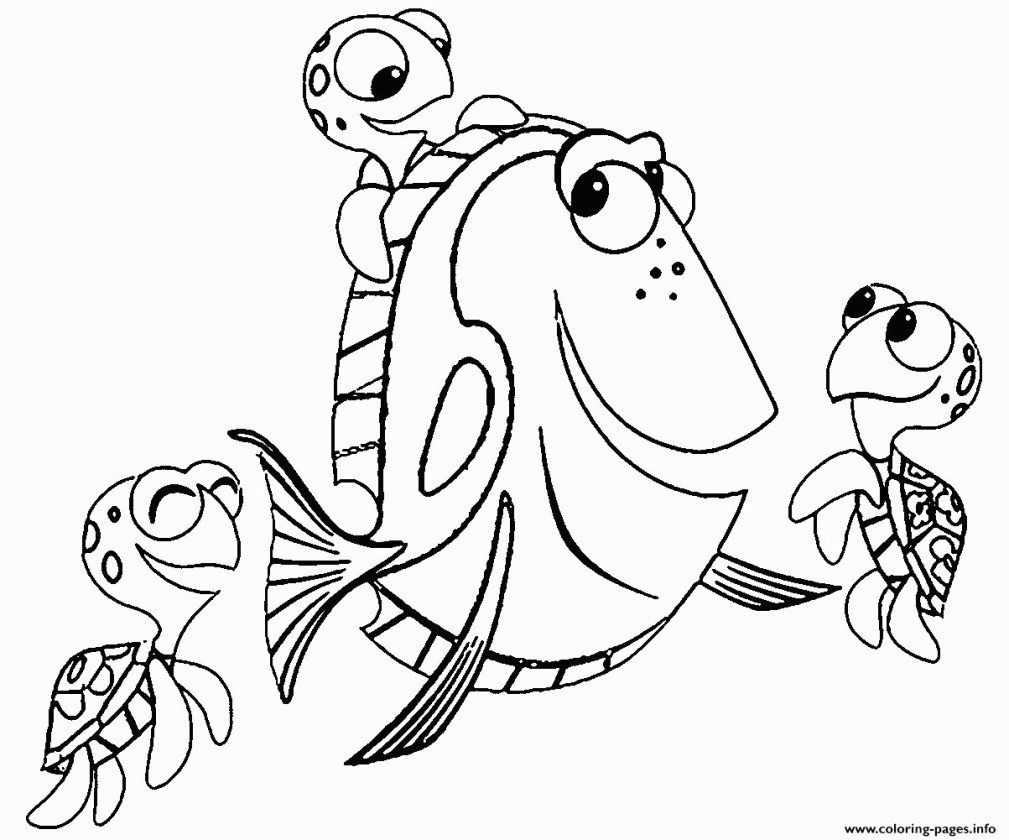 Findet Nemo Ausmalbilder Inspirierend Lovely Finding Dory Coloring Pages Fresh Dory Disney Finding Nemo Stock