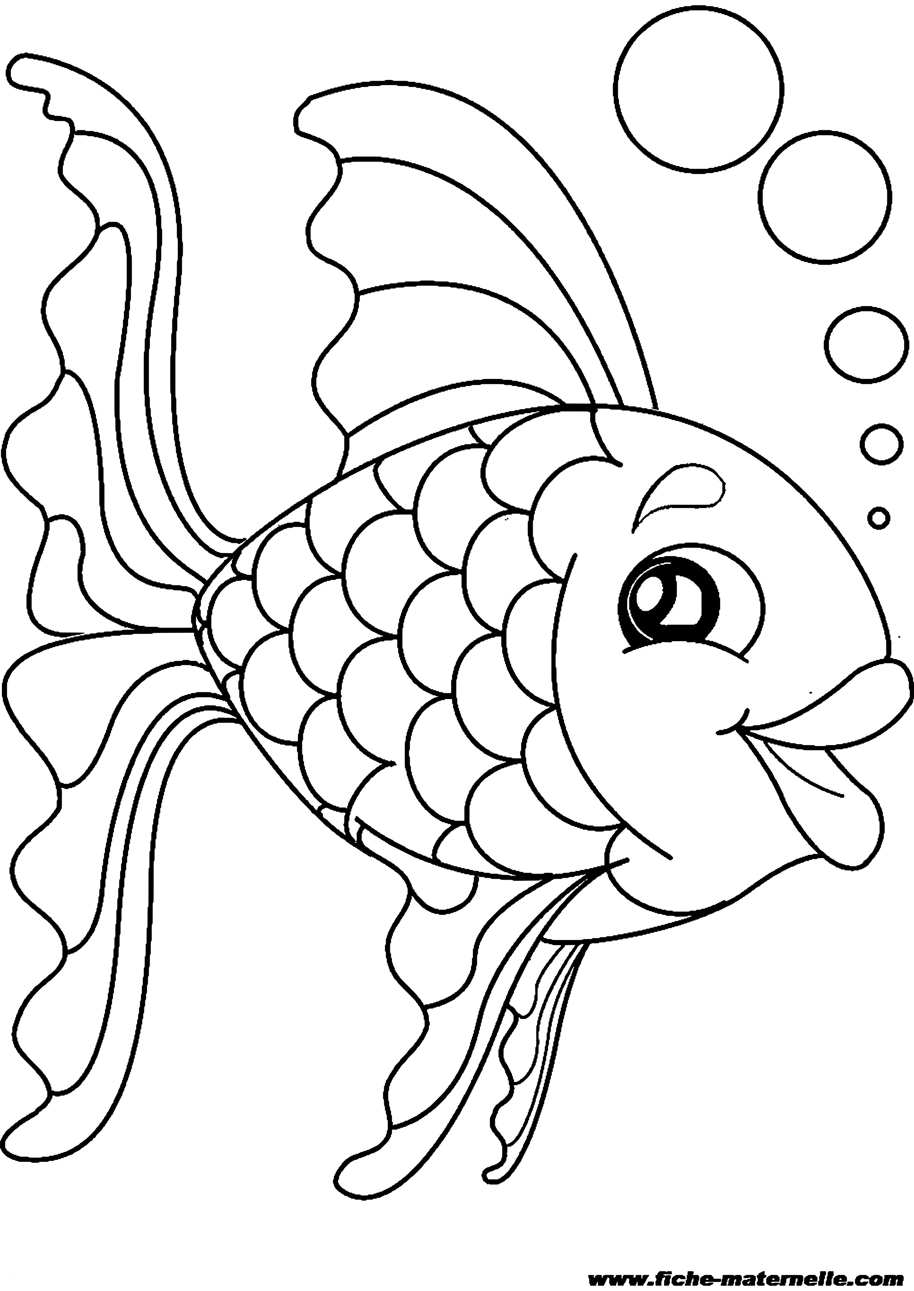 ausmalbilder fische ausdrucken - kostenlose malvorlagen ideen