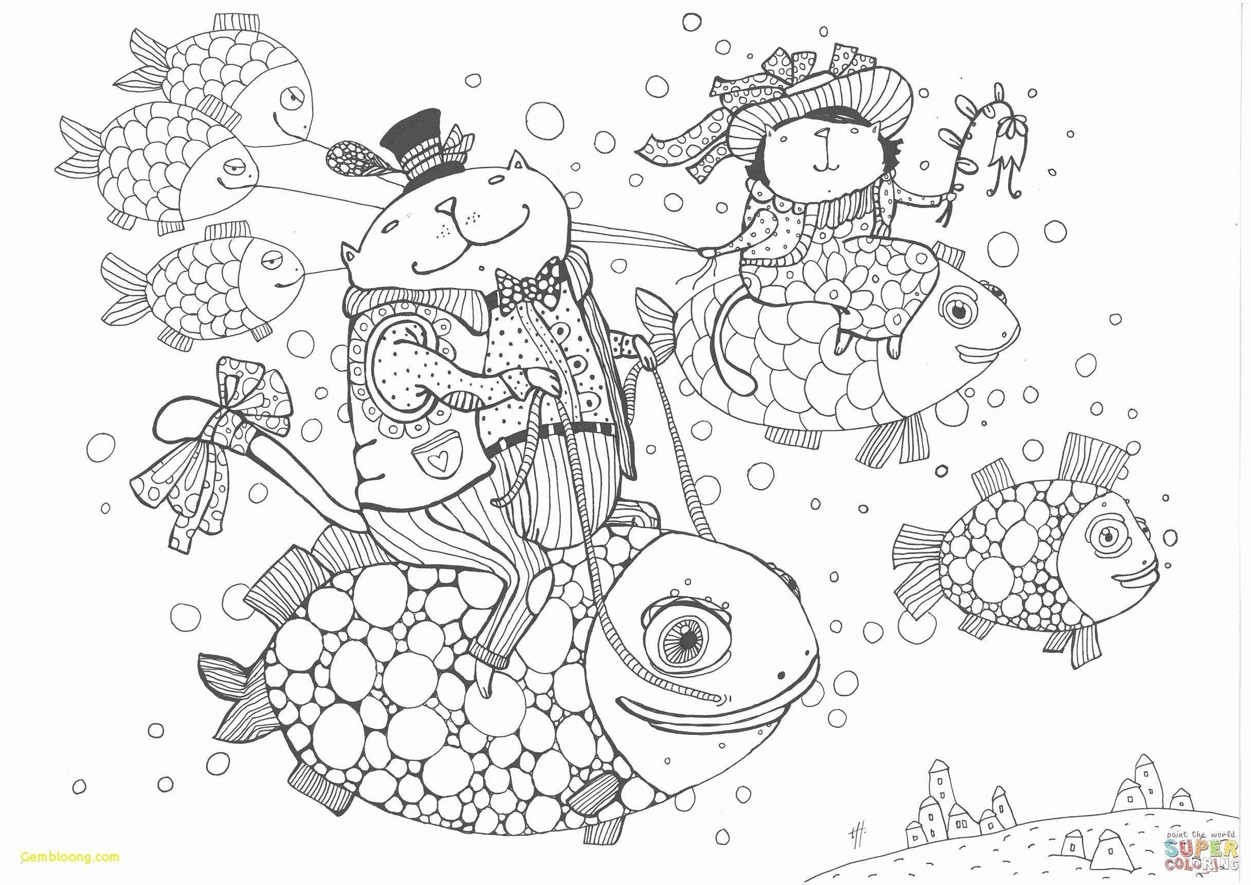 Fische Zum Ausmalen Und Ausdrucken Neu Fisch Malbuch Wunderbar 32 Fisch Ausmalbilder Zum Ausdrucken Fotografieren