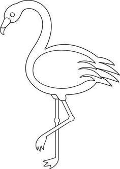 Flamingo Zum Ausmalen Genial Bildergebnis Für Flamingo Vorlage Malvorlagen Fotos