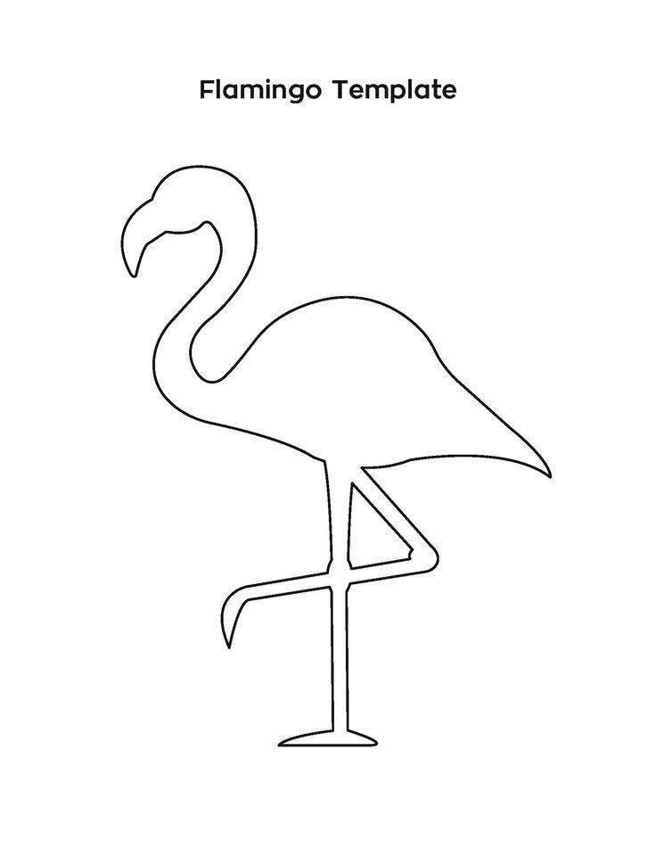 Flamingo Zum Ausmalen Genial Bildergebnis Für Flamingo Vorlage Malvorlagen Galerie