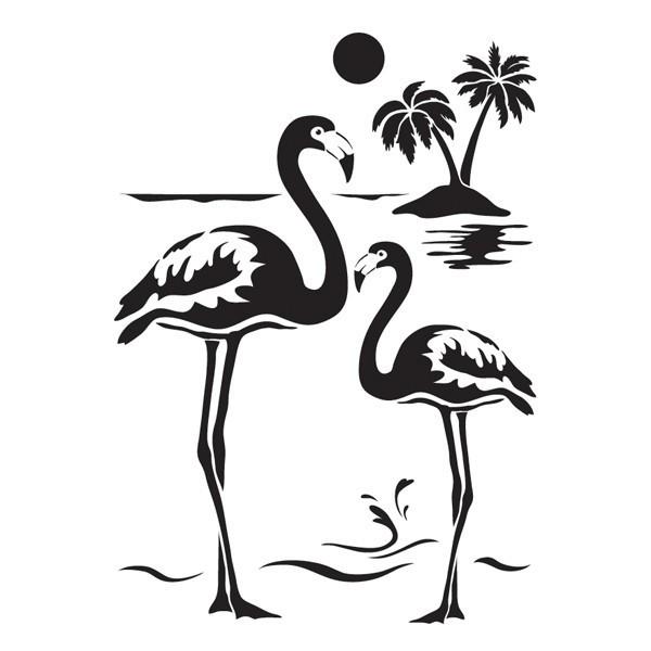 Flamingo Zum Ausmalen Genial Laser Kunststoff Schablone Din A4 Selbstklebend Flamingos Stock