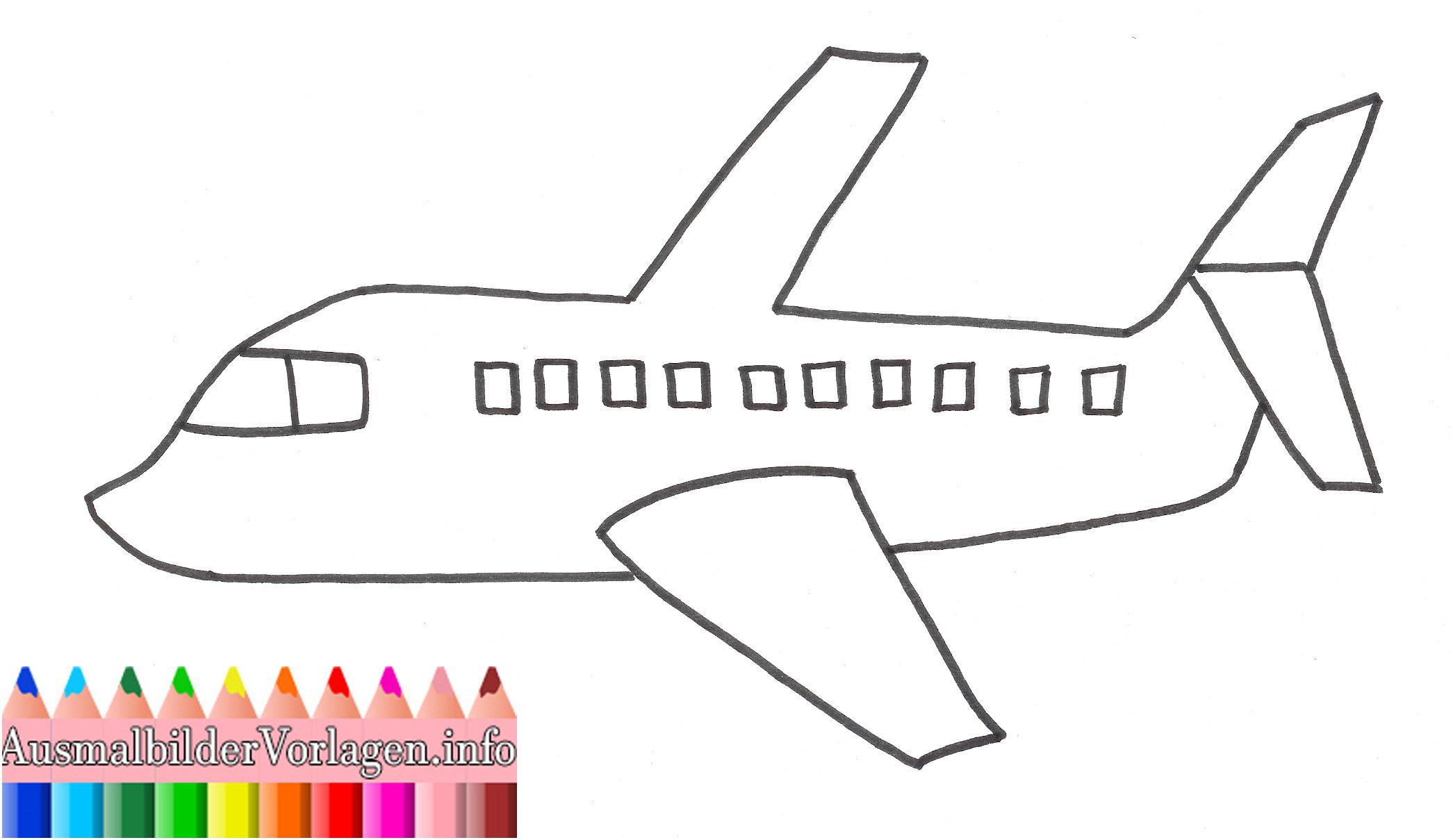 Flugzeuge Zum Ausmalen Das Beste Von 41 Einzigartig Ausmalbild Flugzeug – Große Coloring Page Sammlung Stock