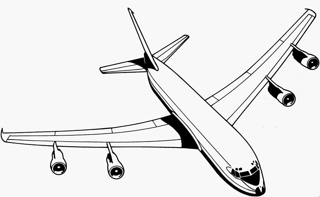 Flugzeuge Zum Ausmalen Einzigartig Flugzeug Malvorlage A380 Idee