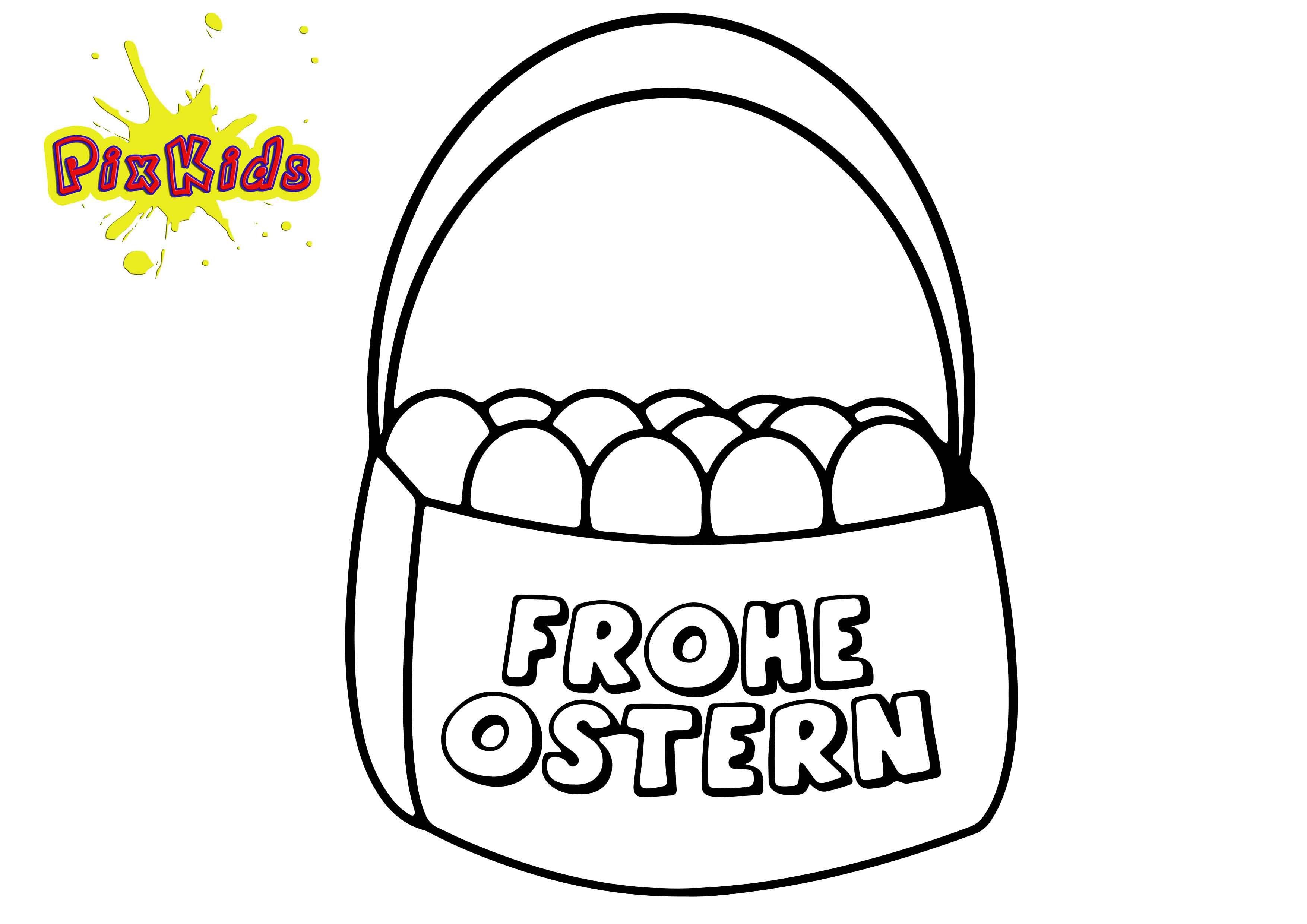 Frohe Ostern Bilder Zum Ausmalen Genial Ausmalbilder Ostern Kostenlos Ausdrucken Elegant Frohe Ostern Galerie