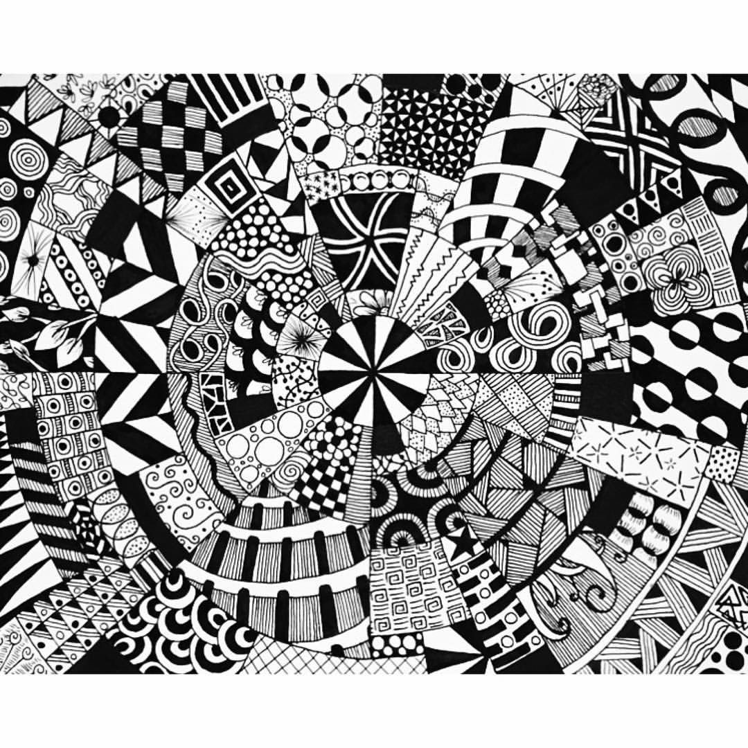 Geometrische Muster Zum Ausmalen Das Beste Von Doodle Patterns Zen Doodling Fotos