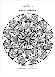 Geometrische Muster Zum Ausmalen Einzigartig 199 Besten Mandalas Zum Ausdrucken Für Kinder Erwachsene Bilder Das Bild