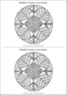 Geometrische Muster Zum Ausmalen Frisch 199 Besten Mandalas Zum Ausdrucken Für Kinder Erwachsene Bilder Das Bild