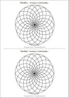 Geometrische Muster Zum Ausmalen Frisch 199 Besten Mandalas Zum Ausdrucken Für Kinder Erwachsene Bilder Sammlung