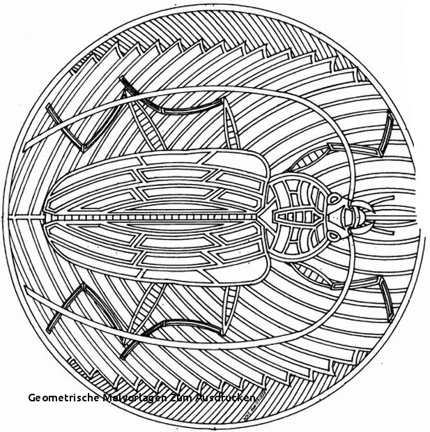 Geometrische Muster Zum Ausmalen Frisch Geometrische Malvorlagen Zum Ausdrucken 40 Hübsche Mandala Vorlagen Das Bild
