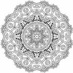 Geometrische Muster Zum Ausmalen Genial 22 Besten Mandala Bilder Auf Pinterest In 2018 Galerie