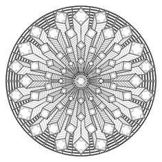 Geometrische Muster Zum Ausmalen Genial 506 Besten Mandala Bilder Auf Pinterest In 2018 Bild