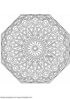Geometrische Muster Zum Ausmalen Genial 506 Besten Mandala Bilder Auf Pinterest In 2018 Bilder