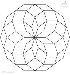 Geometrische Muster Zum Ausmalen Genial 65 Besten Mandalas Ausmalbilder Bilder Auf Pinterest Galerie