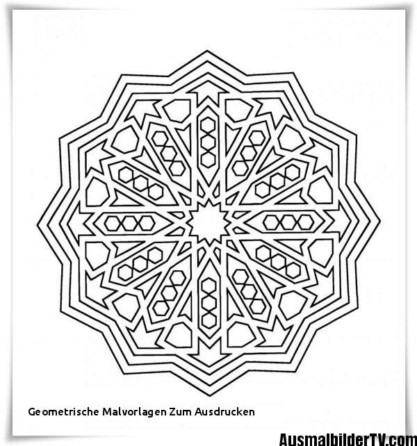 Geometrische Muster Zum Ausmalen Genial Geometrische Malvorlagen Zum Ausdrucken 40 Hübsche Mandala Vorlagen Galerie