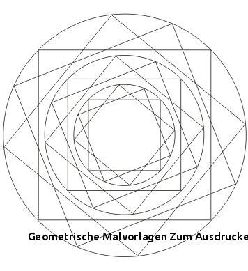 Geometrische Muster Zum Ausmalen Genial Geometrische Malvorlagen Zum Ausdrucken Malvorlagen Quadrat Neu Das Bild