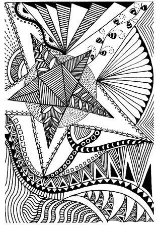 Geometrische Muster Zum Ausmalen Inspirierend Oswoa1 Stock