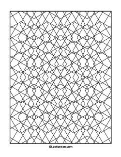 Geometrische Muster Zum Ausmalen Neu Geometric Coloring Page Diamonds Pattern 1 Coloring Sammlung