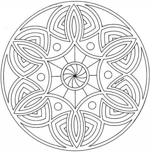 Geometrische Muster Zum Ausmalen Neu Mandala 110 508—512 Me Val Designs & Patterns Bild