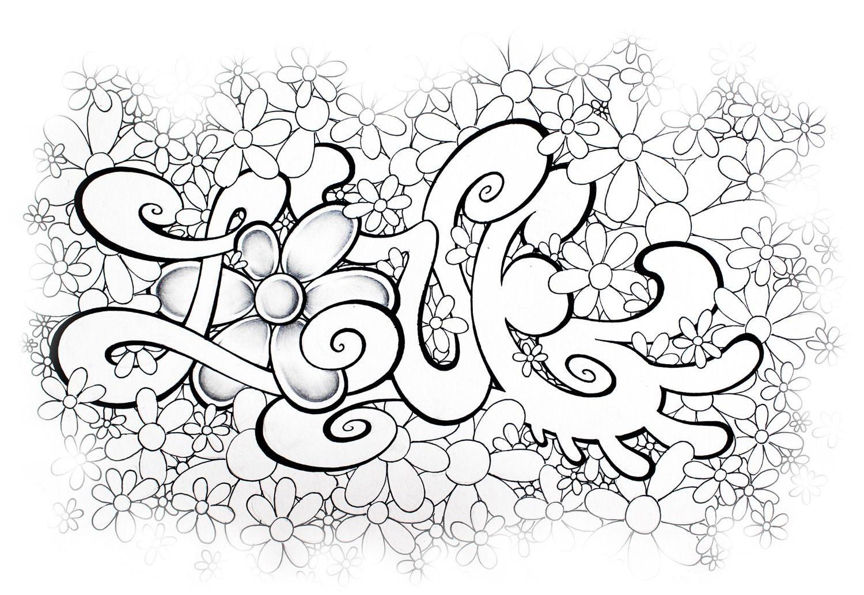 Graffiti Ausmalbilder Namen Frisch 45 Inspirierend Ausmalbilder Graffiti Love Mickeycarrollmunchkin Bild