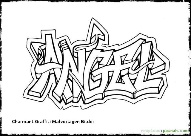Graffiti Ausmalbilder Namen Inspirierend 23 Charmant Graffiti Malvorlagen Bilder Stock